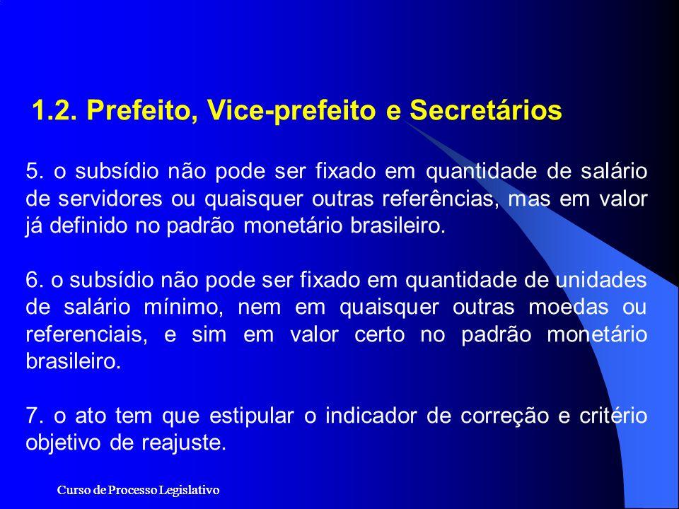 1.2. Prefeito, Vice-prefeito e Secretários
