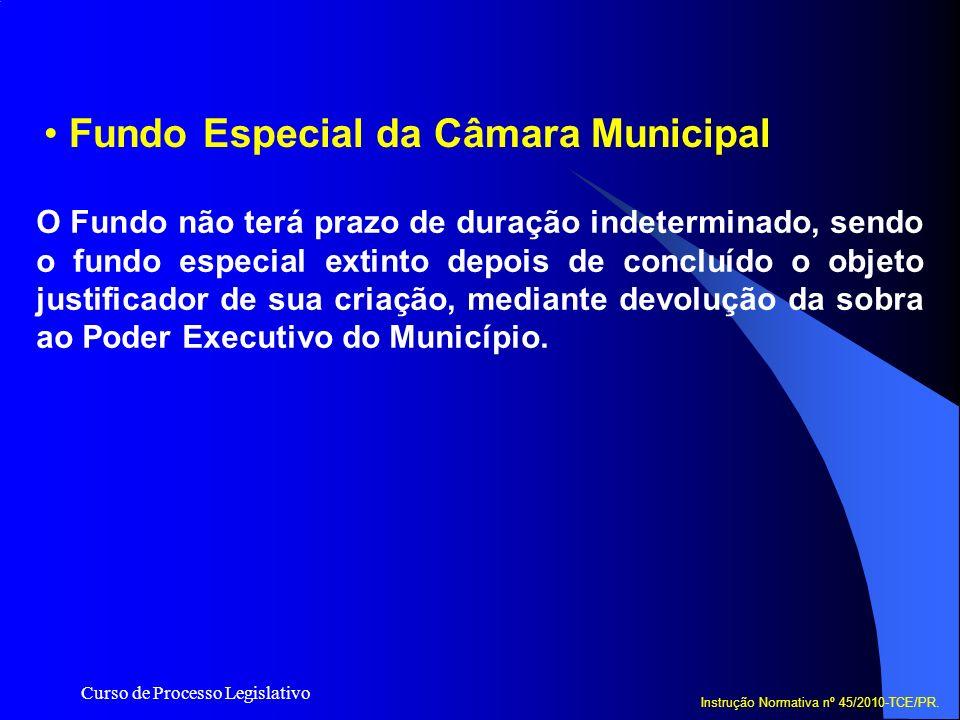 Fundo Especial da Câmara Municipal