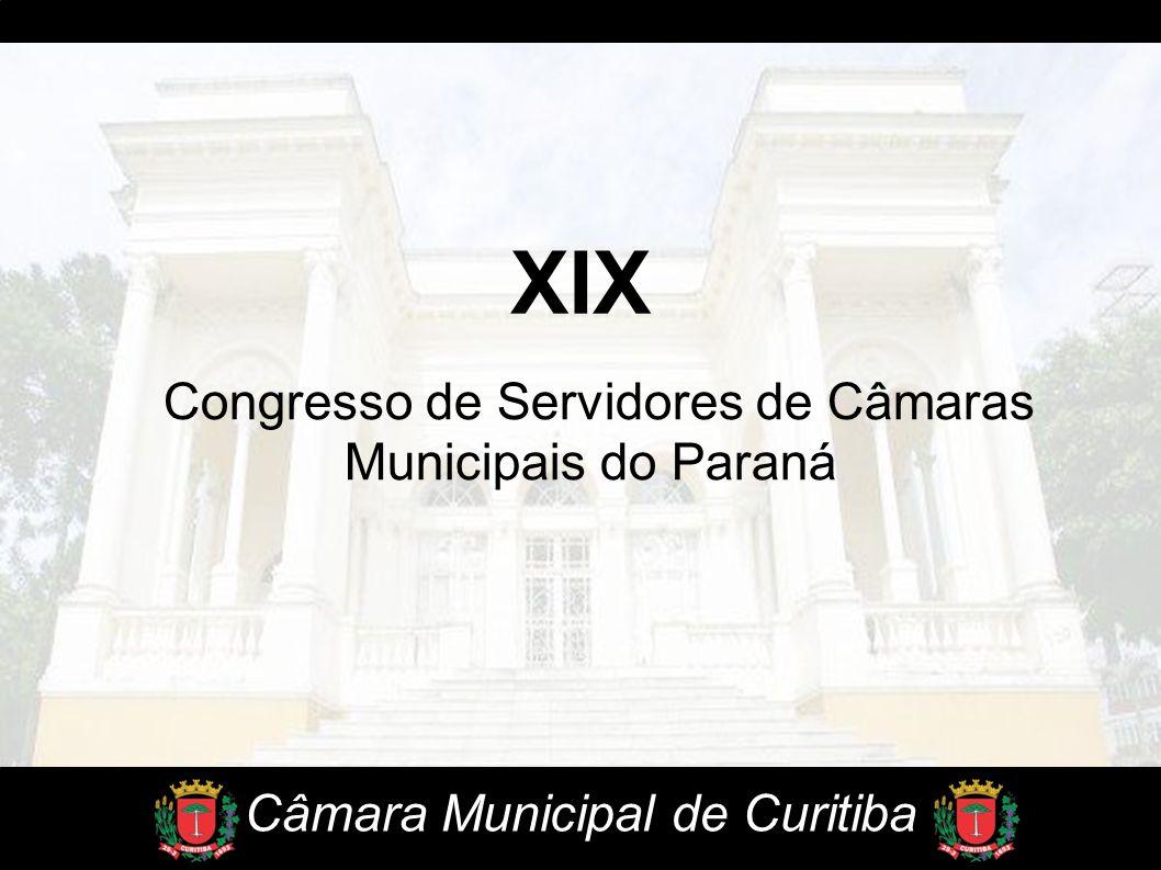 XIX Congresso de Servidores de Câmaras Municipais do Paraná