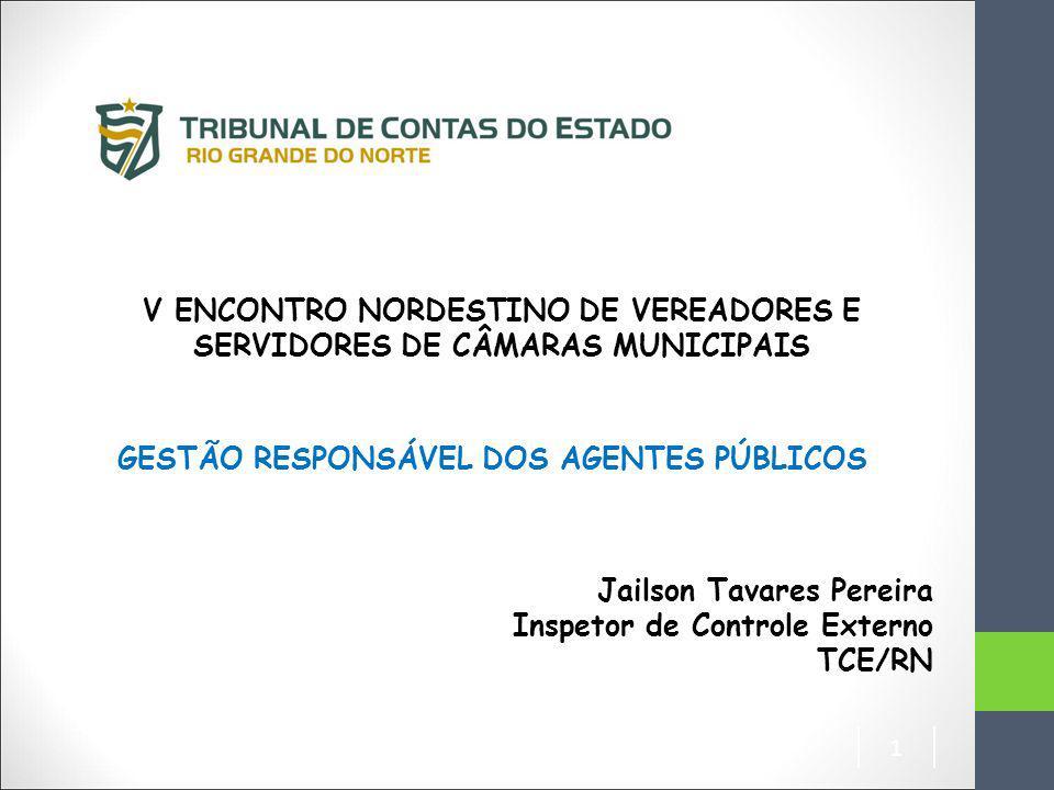 V ENCONTRO NORDESTINO DE VEREADORES E SERVIDORES DE CÂMARAS MUNICIPAIS