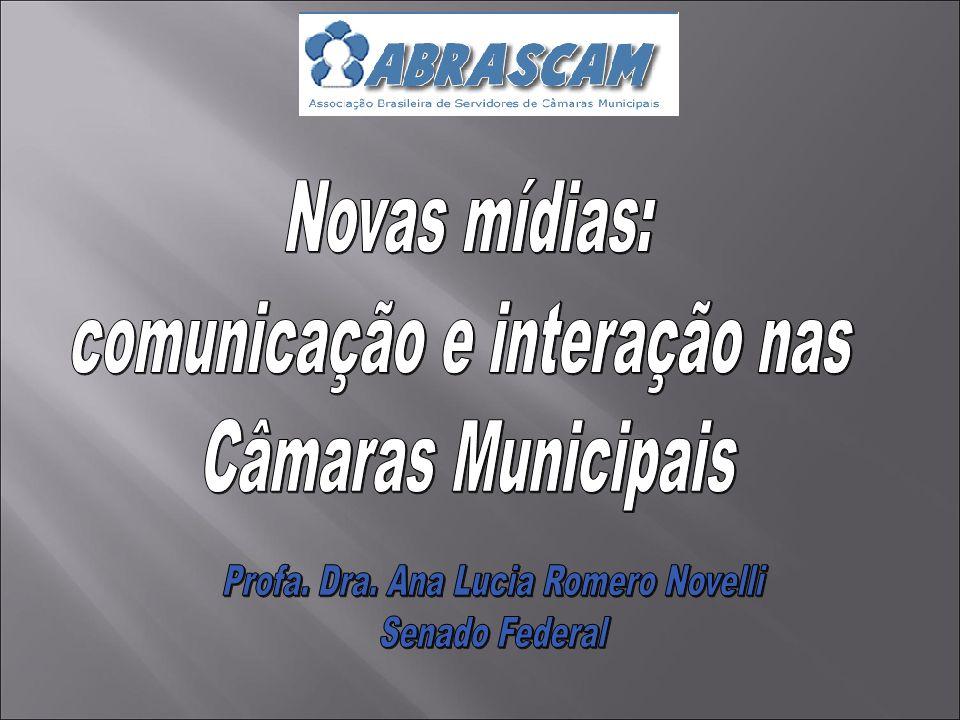 comunicação e interação nas Câmaras Municipais