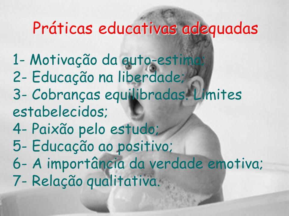 Práticas educativas adequadas