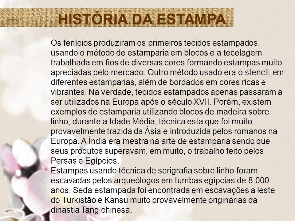 HISTÓRIA DA ESTAMPA
