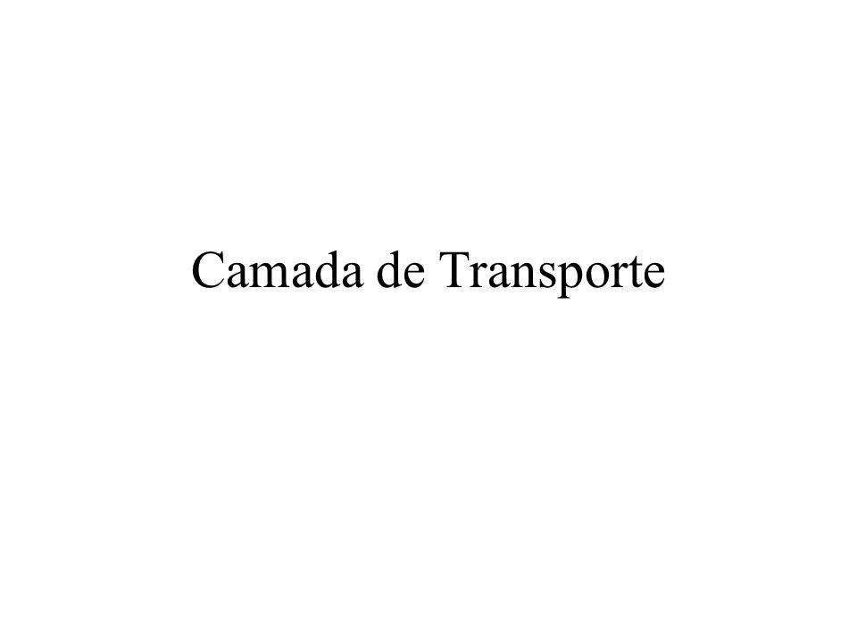 Camada de Transporte