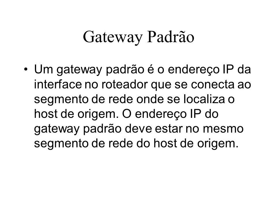 Gateway Padrão