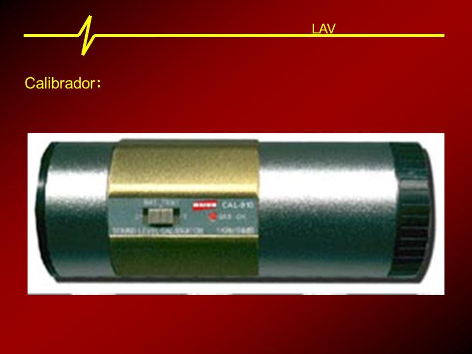 LAV Calibrador: