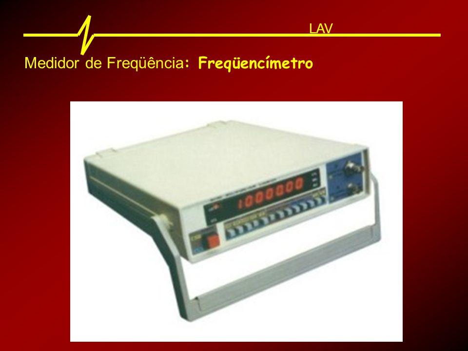 Medidor de Freqüência: Freqüencímetro