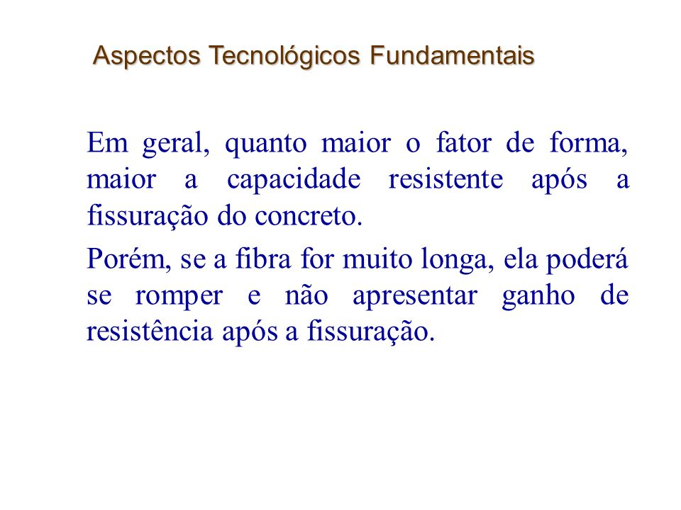 Aspectos Tecnológicos Fundamentais
