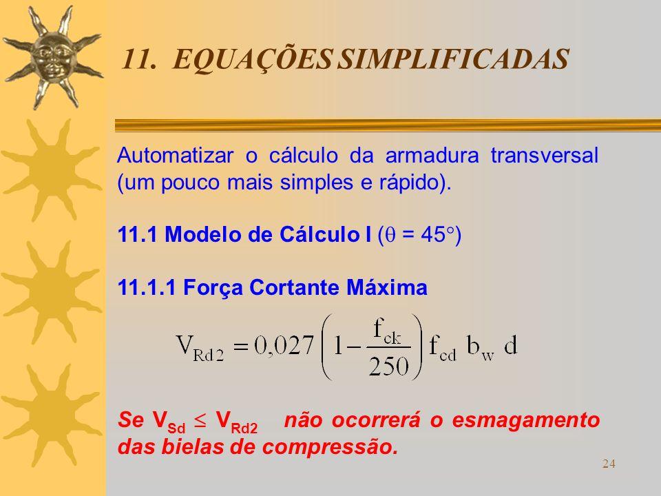 11. EQUAÇÕES SIMPLIFICADAS