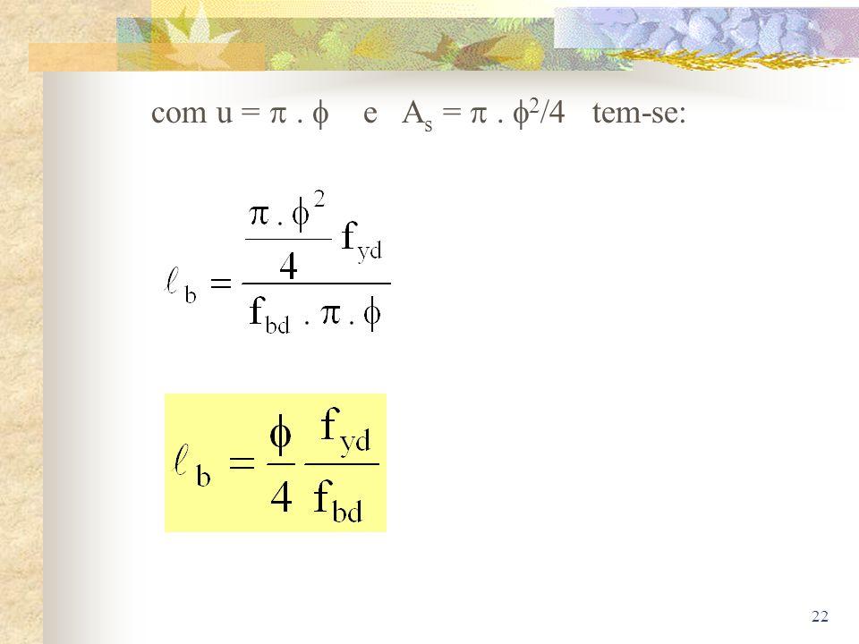 com u =  .  e As =  . 2/4 tem-se: