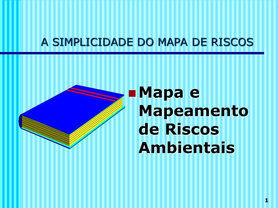 A SIMPLICIDADE DO MAPA DE RISCOS