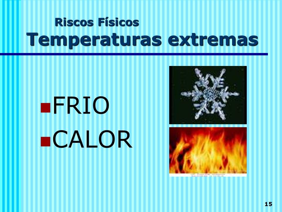 Riscos Físicos Temperaturas extremas