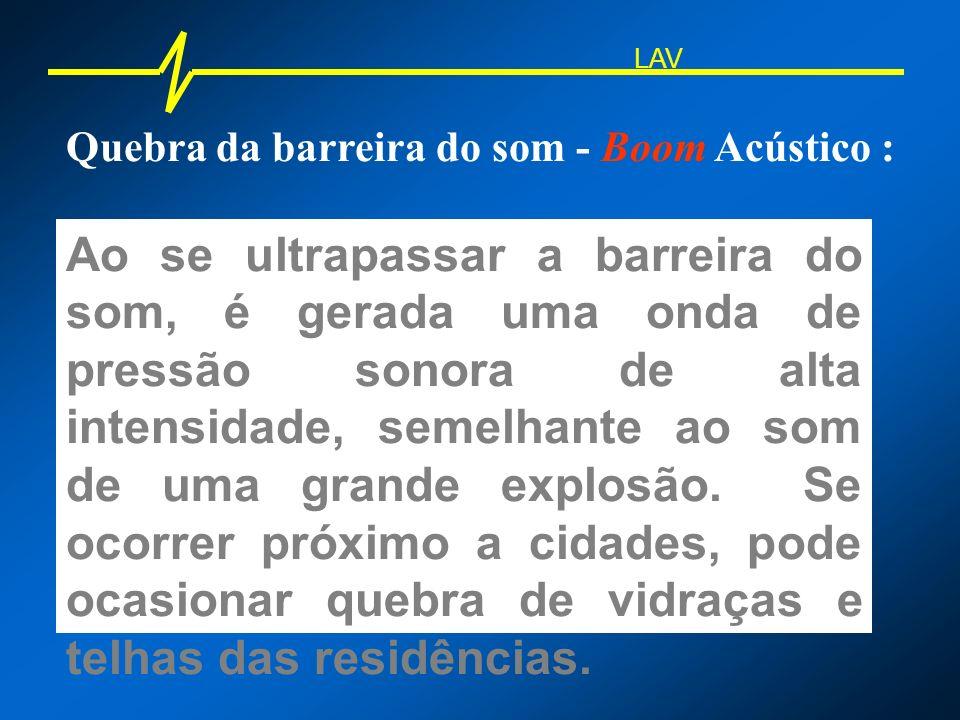 LAV Quebra da barreira do som - Boom Acústico :