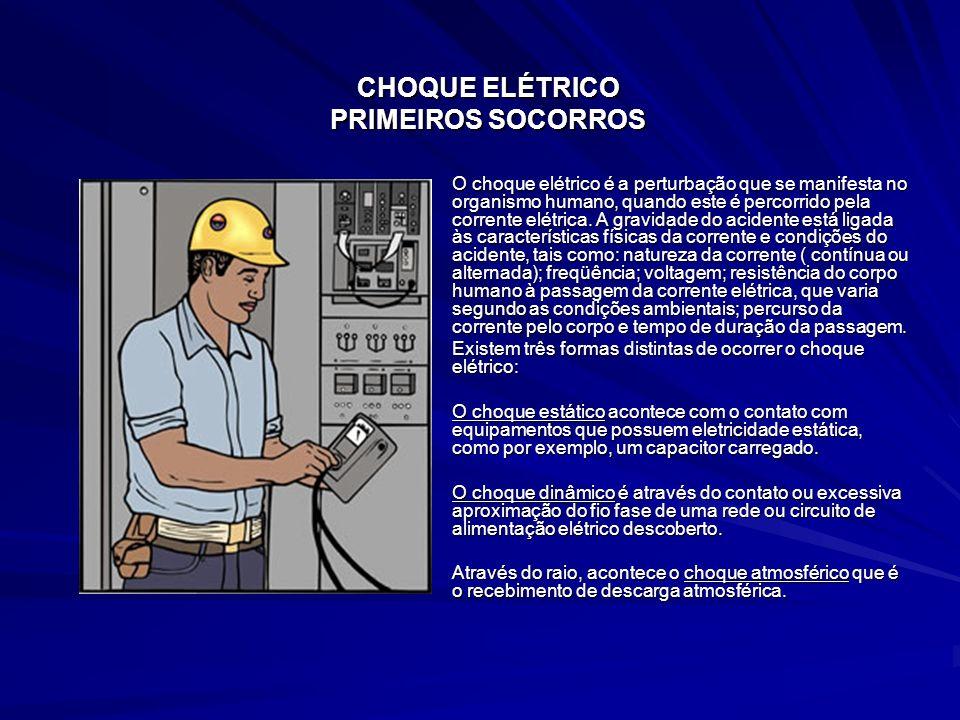 CHOQUE ELÉTRICO PRIMEIROS SOCORROS