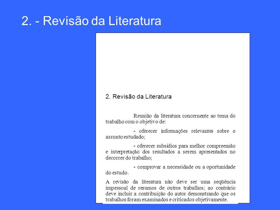 2. - Revisão da Literatura