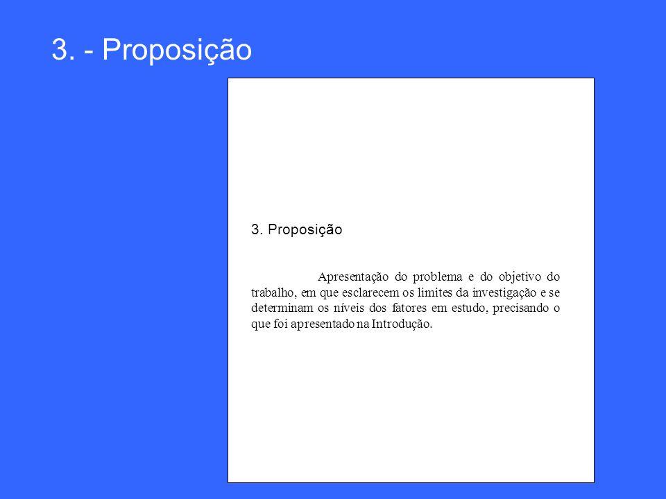 3. - Proposição 3. Proposição