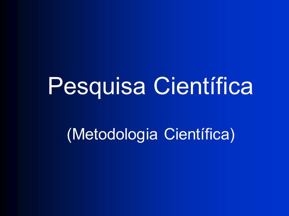 (Metodologia Científica)