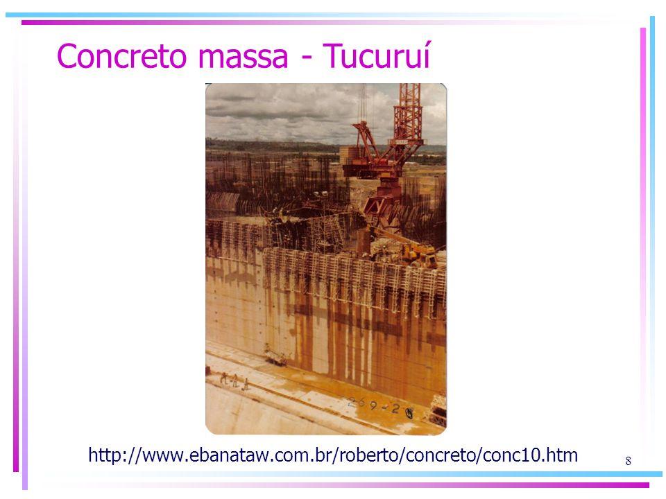 Concreto massa - Tucuruí