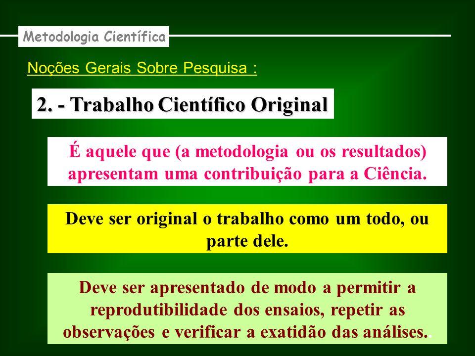 2. - Trabalho Científico Original