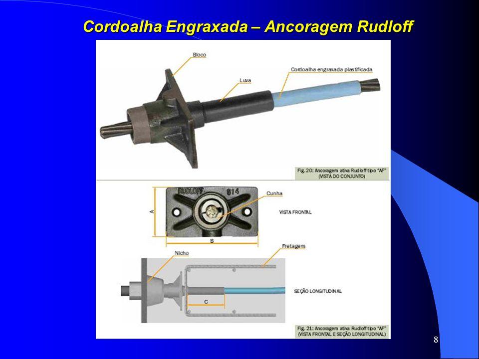 Cordoalha Engraxada – Ancoragem Rudloff
