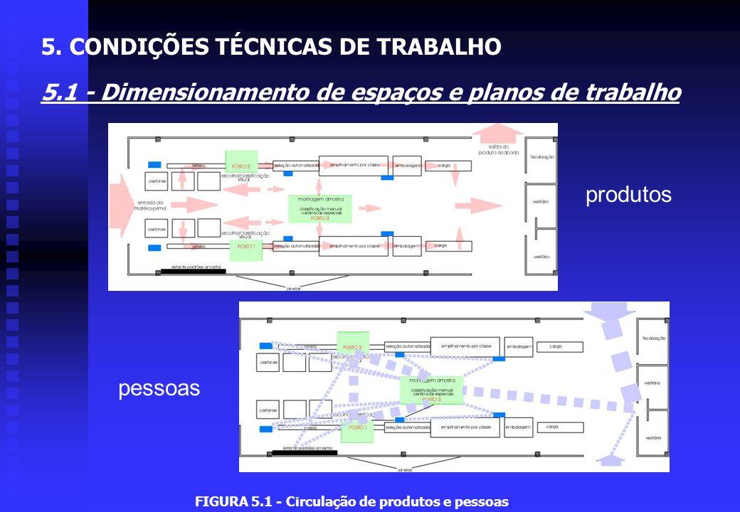 FIGURA 5.1 - Circulação de produtos e pessoas