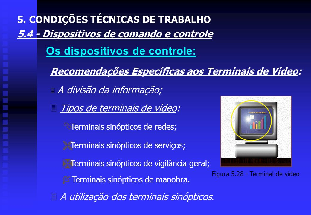 Figura 5.28 - Terminal de vídeo