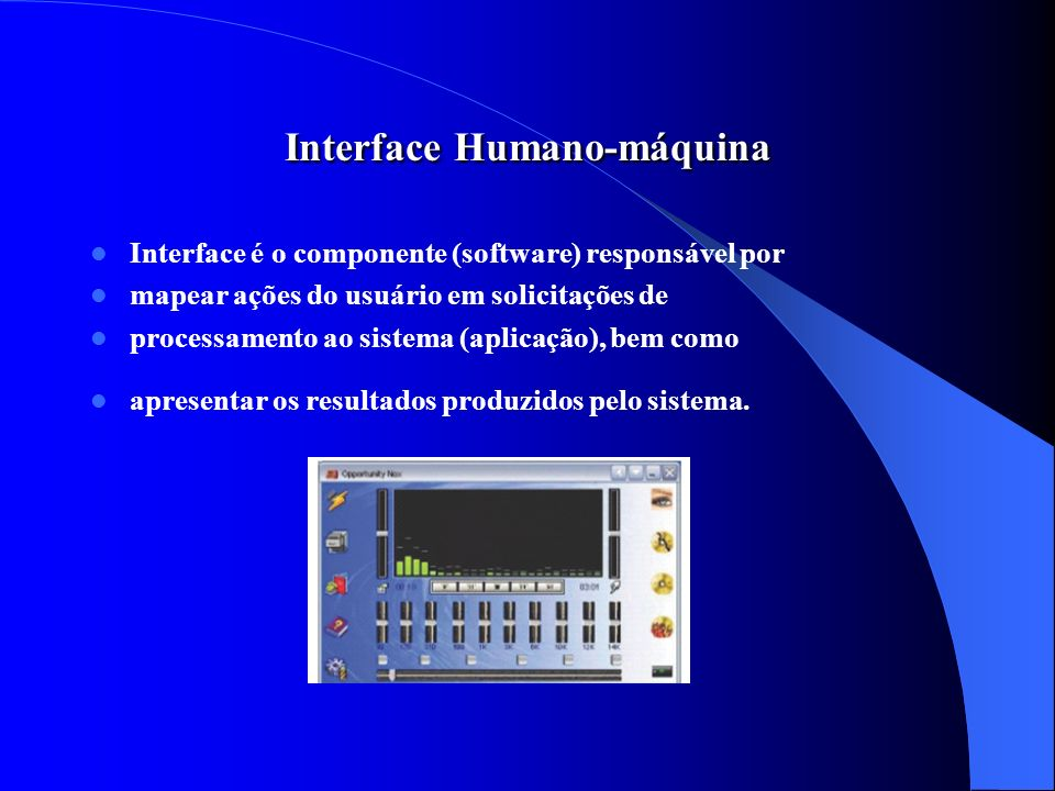 Interface Humano-máquina