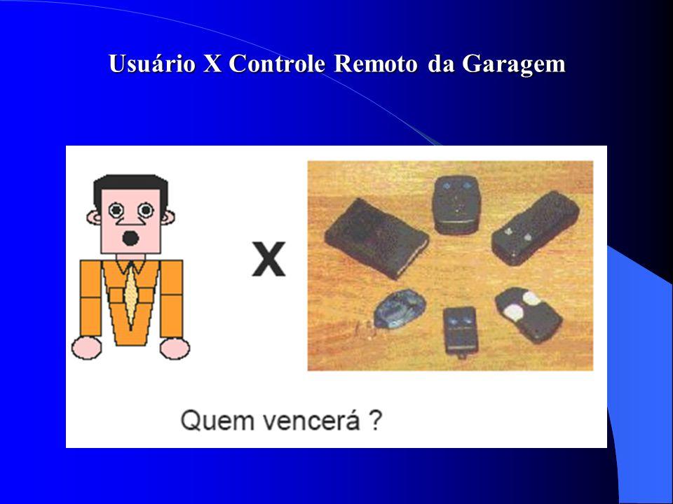 Usuário X Controle Remoto da Garagem