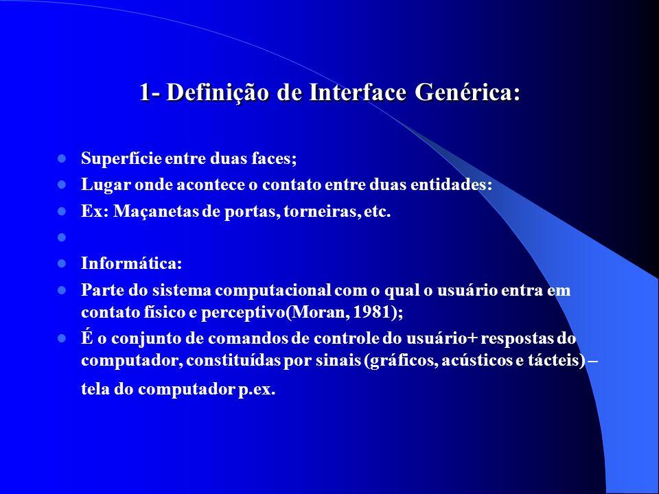 1- Definição de Interface Genérica: