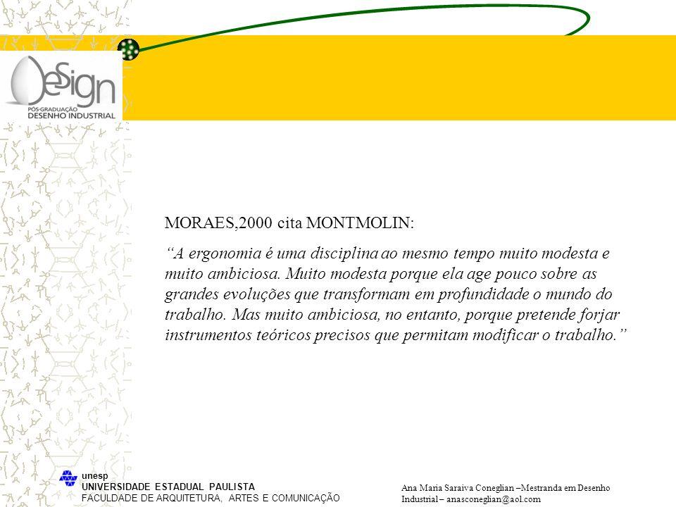 MORAES,2000 cita MONTMOLIN: