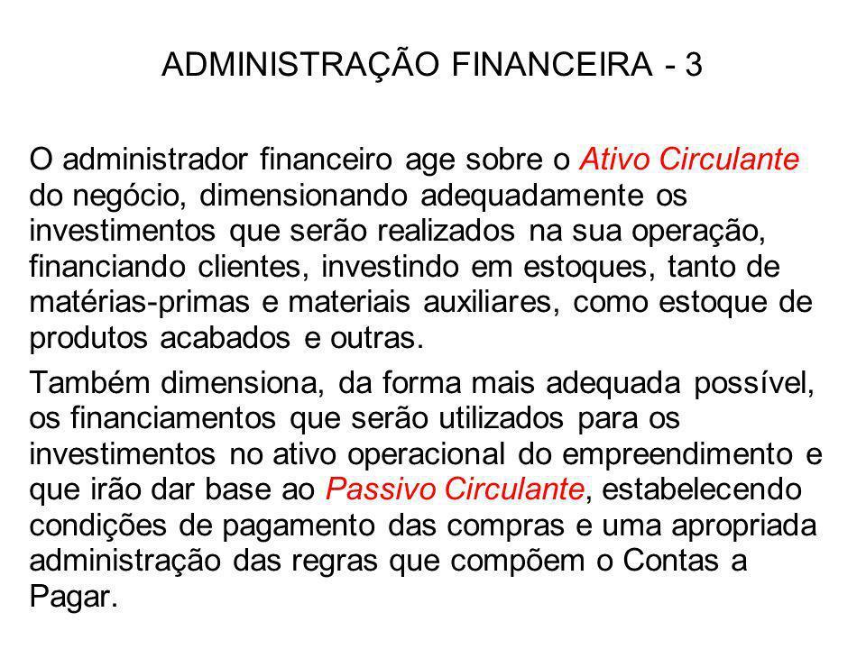 ADMINISTRAÇÃO FINANCEIRA - 3