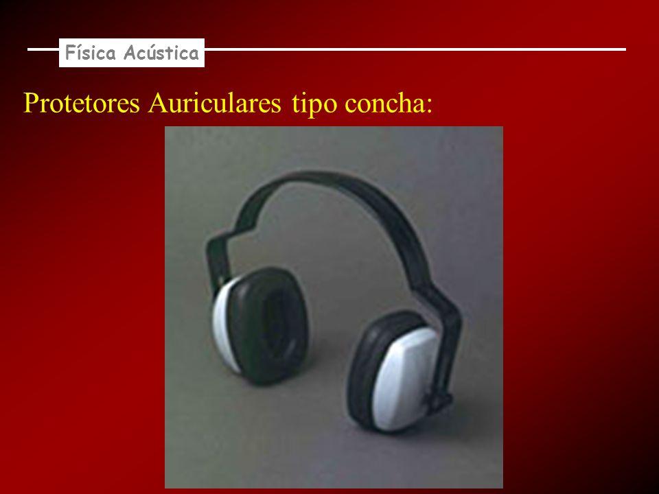 Protetores Auriculares tipo concha: