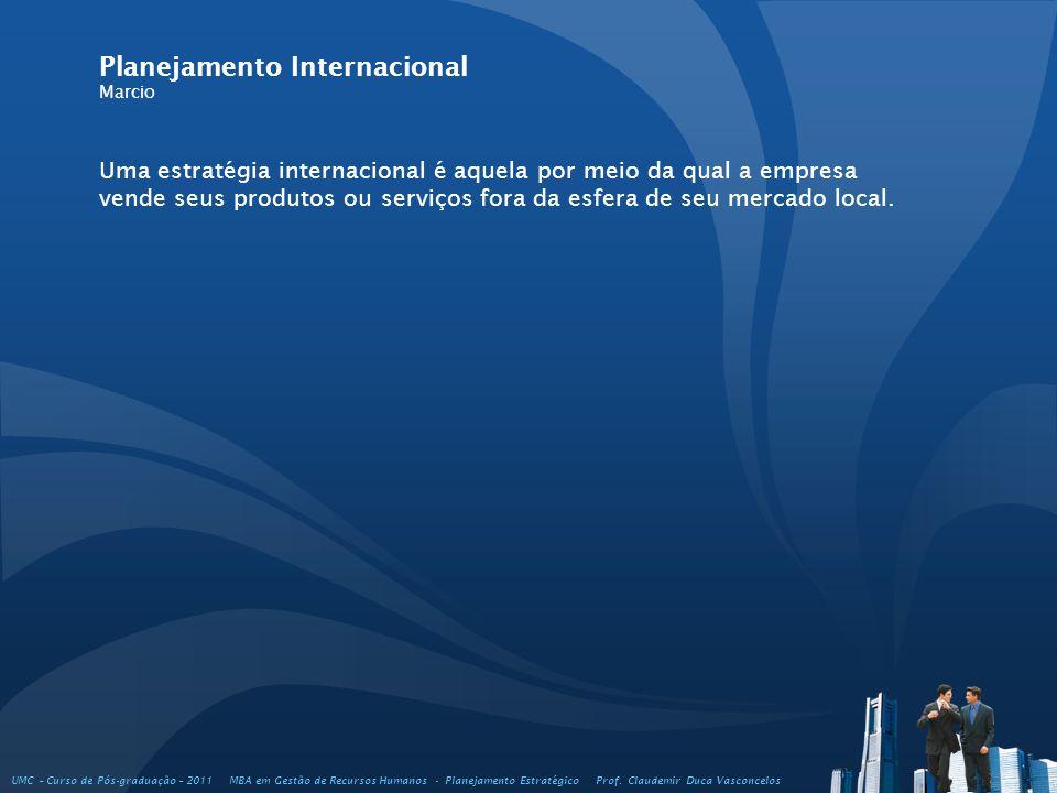 Planejamento Internacional