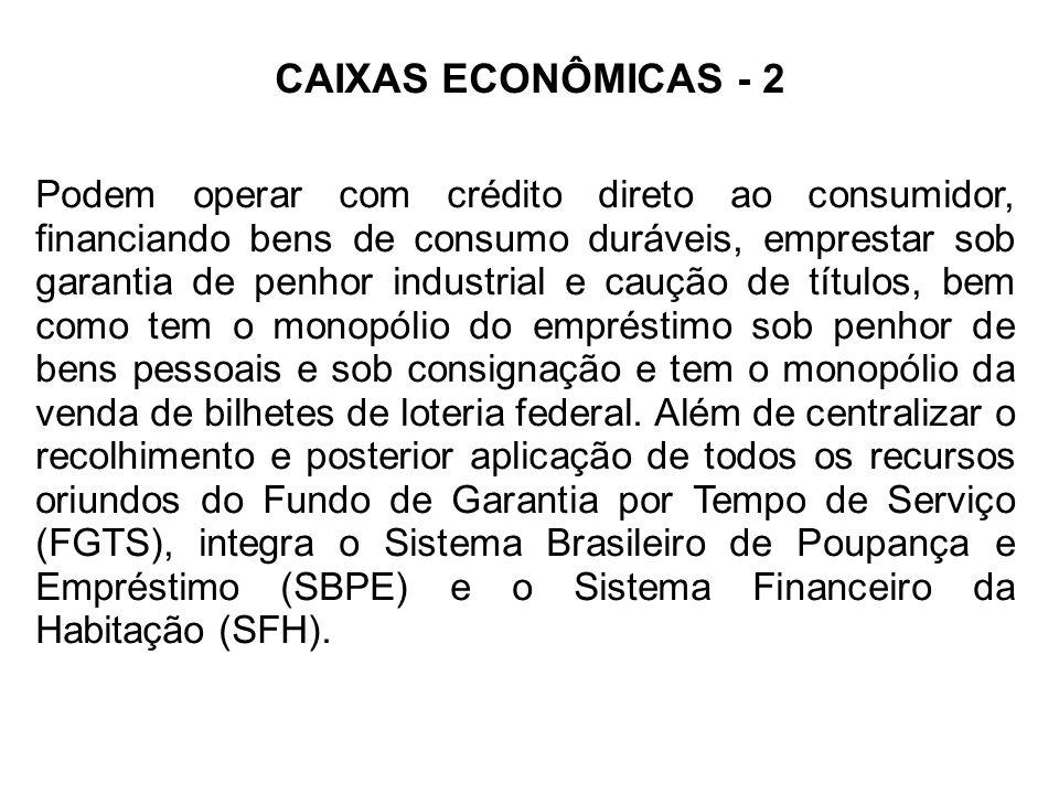 CAIXAS ECONÔMICAS - 2