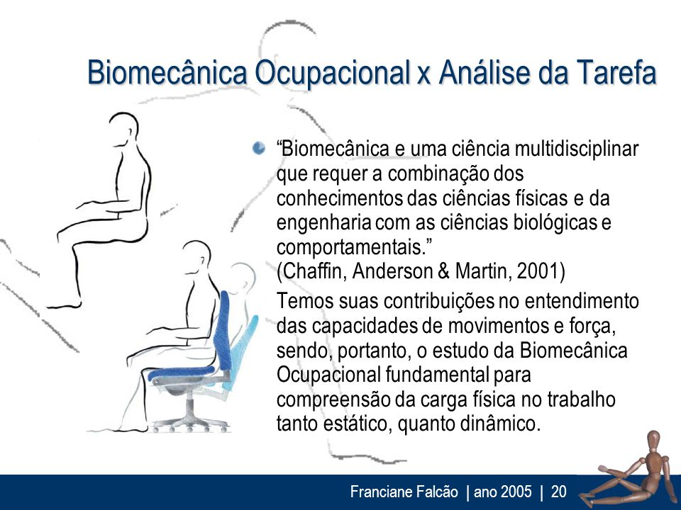 Biomecânica Ocupacional x Análise da Tarefa