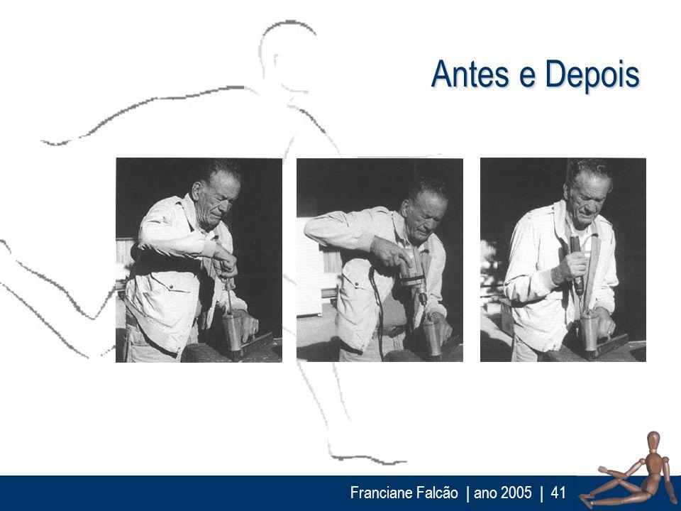 Antes e Depois Franciane Falcão | ano 2005