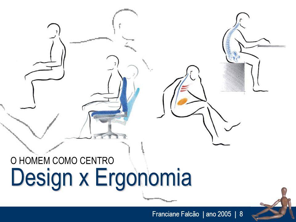 O HOMEM COMO CENTRO Design x Ergonomia Franciane Falcão | ano 2005