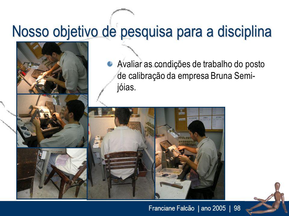 Nosso objetivo de pesquisa para a disciplina