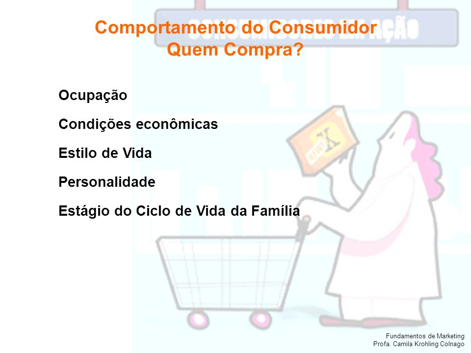 Comportamento do Consumidor