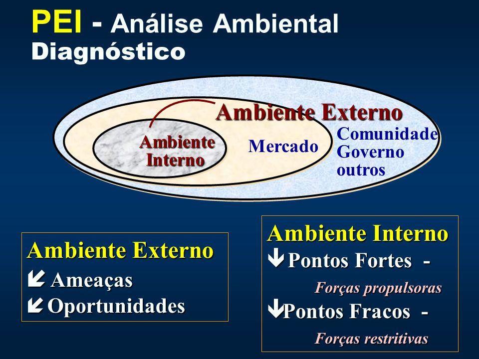 PEI - Análise Ambiental Diagnóstico