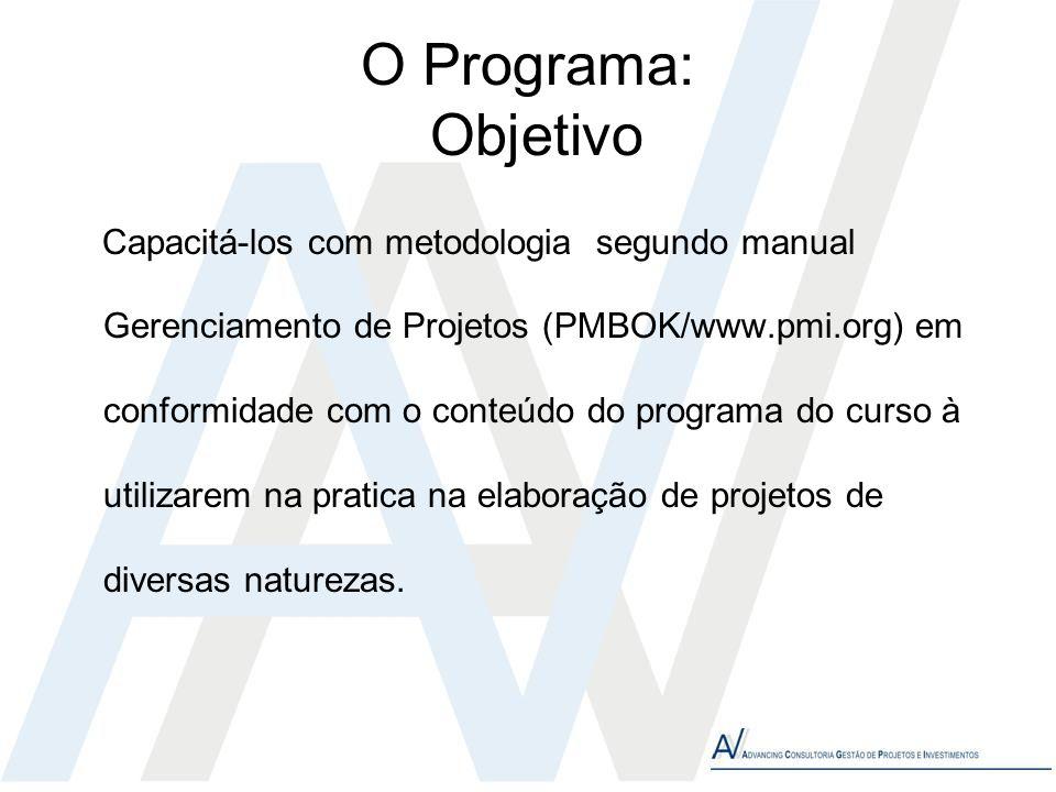 O Programa: Objetivo