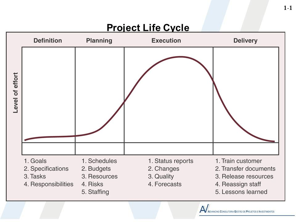 1-1 Project Life Cycle