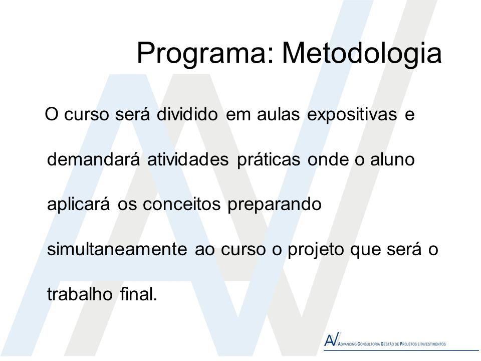 Programa: Metodologia