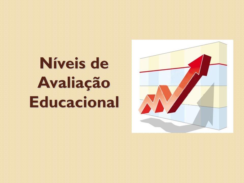 Níveis de Avaliação Educacional