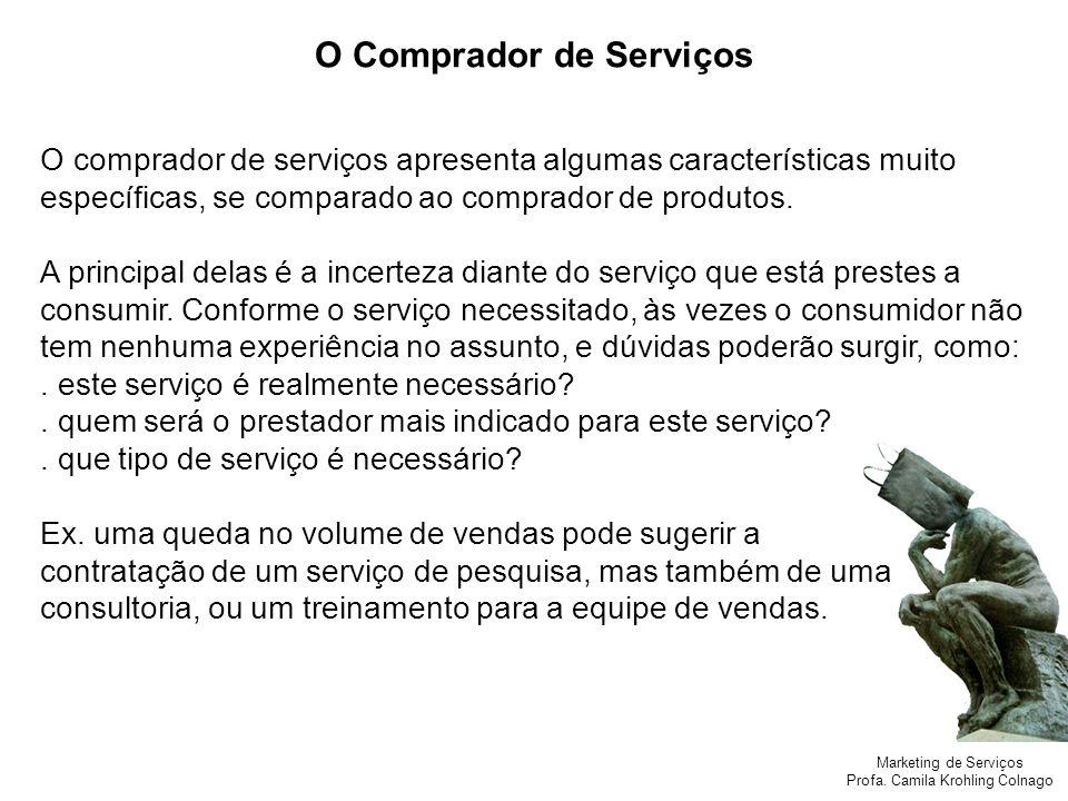 O Comprador de Serviços