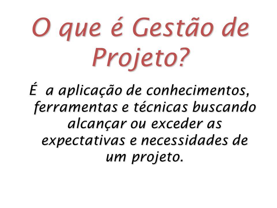 O que é Gestão de Projeto