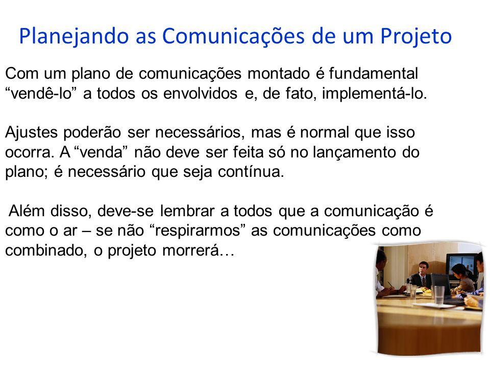 Planejando as Comunicações de um Projeto