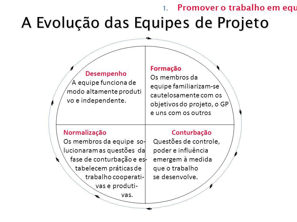 A Evolução das Equipes de Projeto