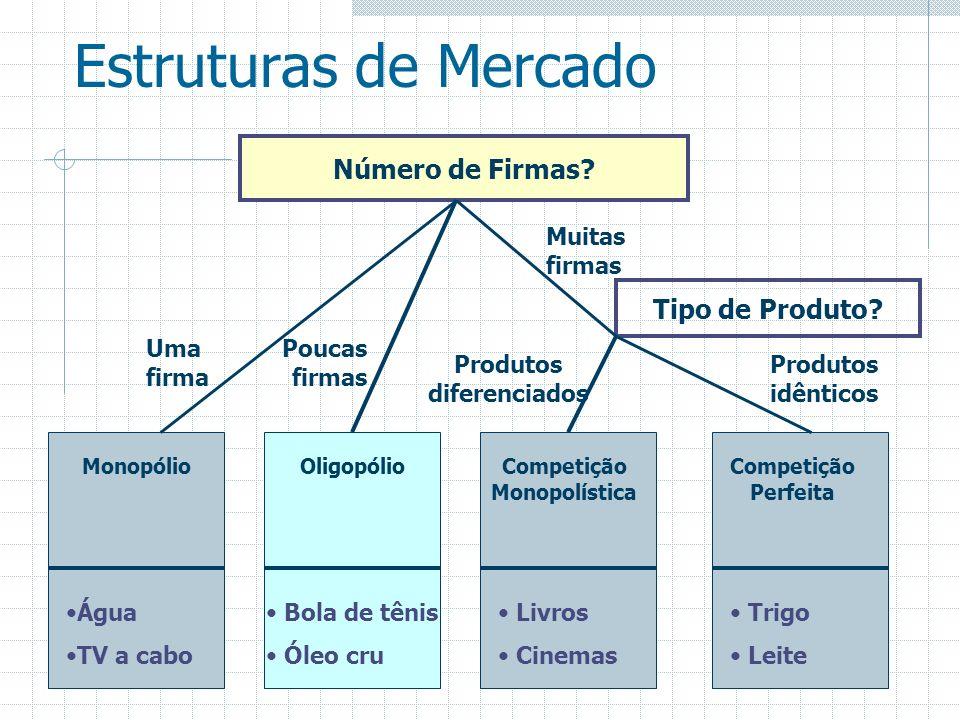 Produtos diferenciados Competição Monopolística