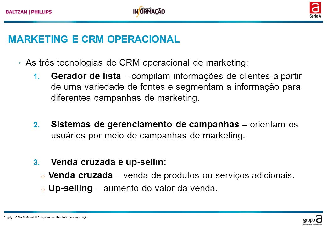 MARKETING E CRM OPERACIONAL